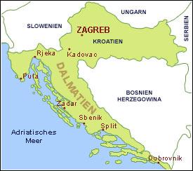 Karte Istrien Kroatien.Urlaub In Kroatien Hotels Appartements Bungalows