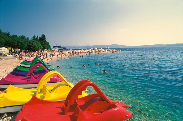 Crikvenica, beach